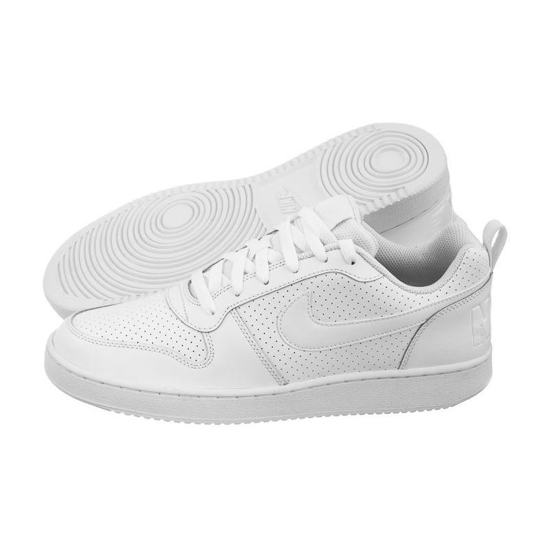 Nike Court Borough Low 838937-111 (NI772-a) bateliai