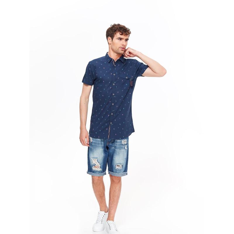 MEN'S SHIRT SHORT SLEEVE TOP SECRET marškiniai