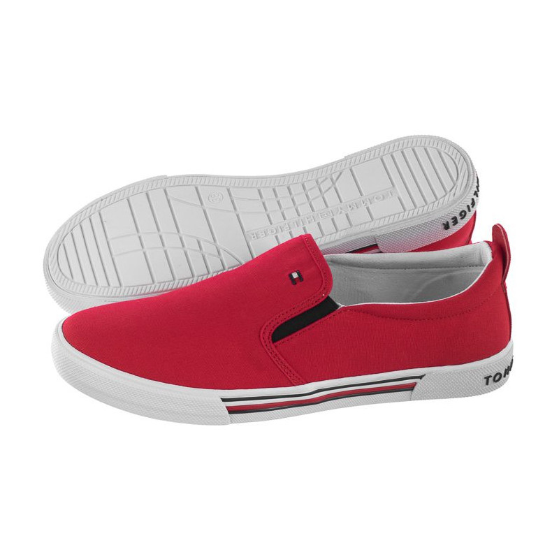Tommy Hilfiger Slip-On Sneaker T3B4-30279-0034 300 Red (TH44-a) bateliai